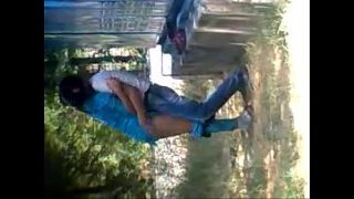 horny indian lovers having hot sex in park