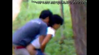 Indian college couple hot Romance in forest