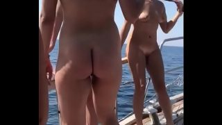 Nude girls at ship