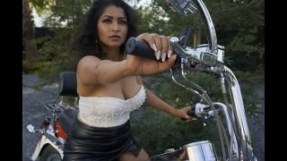 Sexy Bhabi gets naked on Bike – Maya